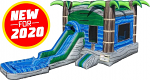 Cascade Crush Bounce House & Water Slide Combo w/Pool