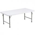 4' Rectangular Kids Table