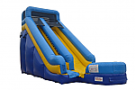 Super Splash Water Slide with splash pool - 18 feet tall