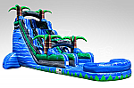 Blue Crush Water Slide - 24 Feet Tall w/GIANT POOL!