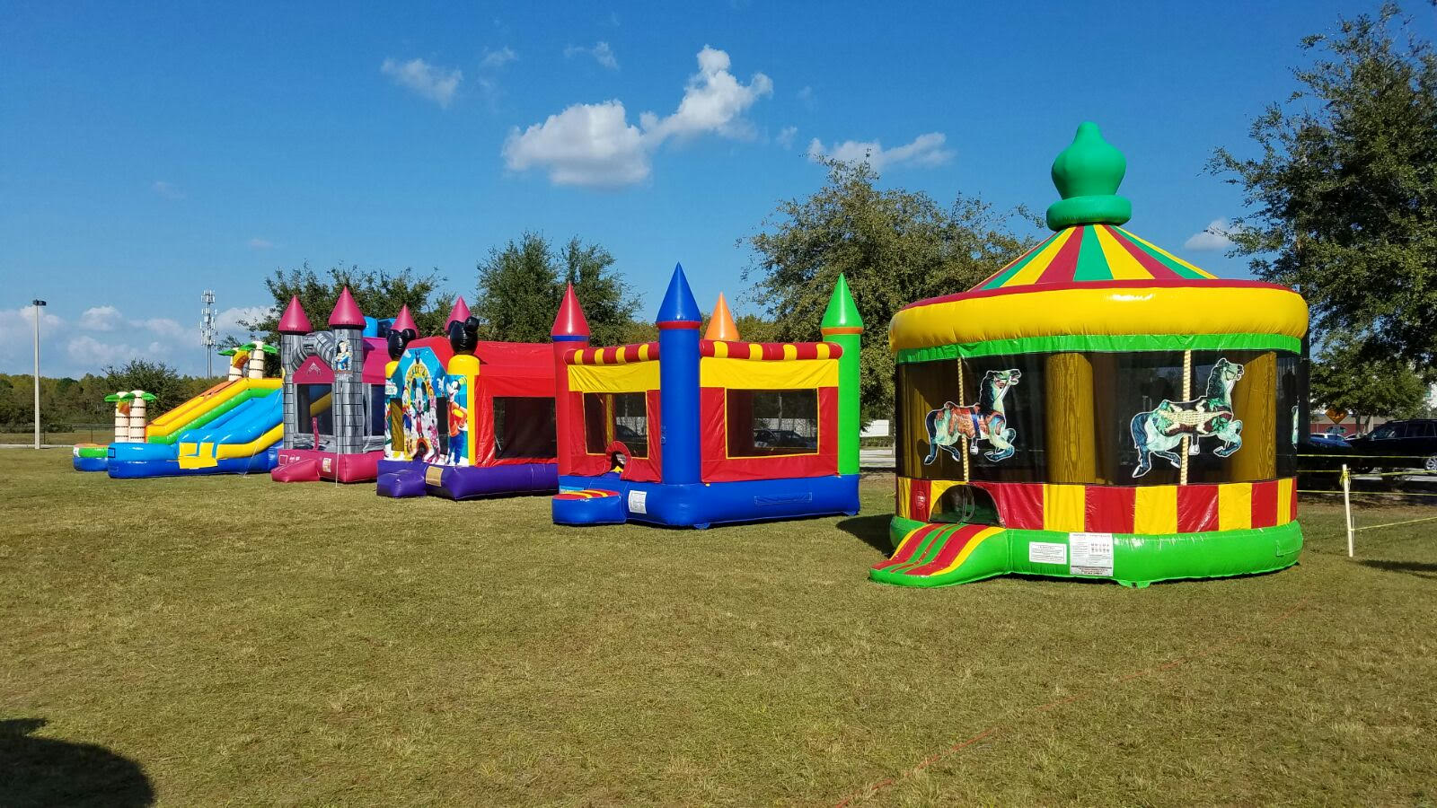Bounce House, Water Slide, Inflatable Party Rentals ...