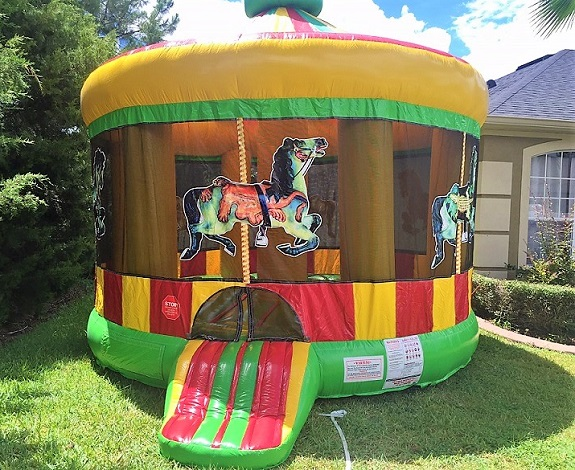 Merry Go Round Bounce House