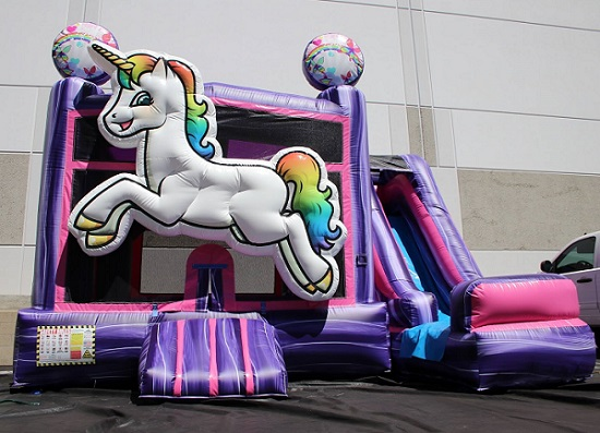 Unicorn Bounce House - Lake Nona, Orlando FL