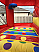 Fire station bounce house area