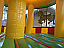 The inside of this Carousel Bounce House is GORGEOUS!