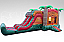 Tropical Fiesta Breeze -Bounce House and Double Lane Water Slide