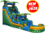 Giant Green Marble Water Slide Rental in Orlando, FL