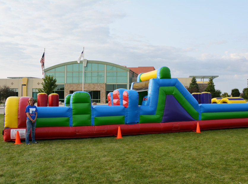 Inflatable Obstacle Course Rental Orlando, FL