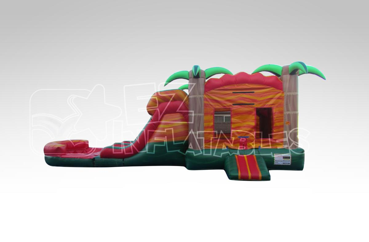 Inflatable Bounce and Water Slide Combo in Florida