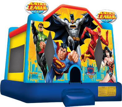 Justice League Bounce Castle
