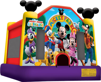 Mickey Park Jumper Bounce House