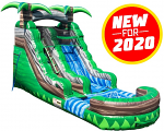 Congo Adventure Water Slide - 15 Feet Tall w/Giant Pool