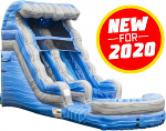 Laguna Waves Water Slide - 15 Feet Tall w/Giant Pool