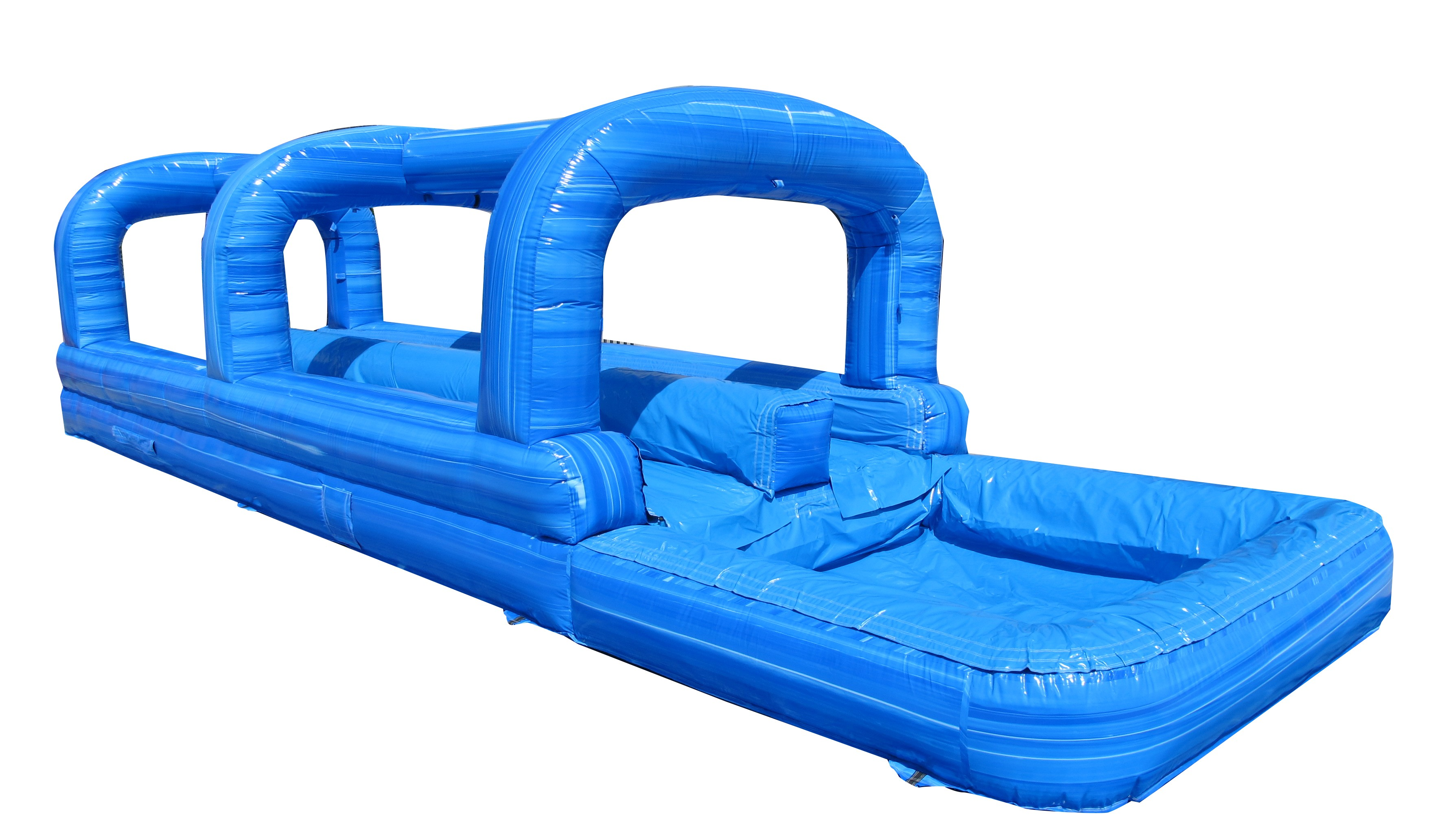 35' Double-Lane-Surf-N-Slide-with-Splash-Pool