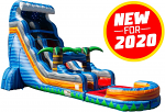 Summer Breeze Water Slide - 20 Feet Tall w/GIANT POOL!