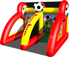 Inflatable  Soccer Fever Game Rental