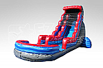Rocky Marble Water Slide - 24 Feet Tall w/GIANT POOL!