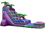 PARADISE Water Slide - 24 Feet Tall w/GIANT POOL!